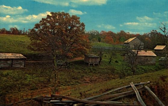Misha Mokwa Album 1975 Hensley Settlement Post Card