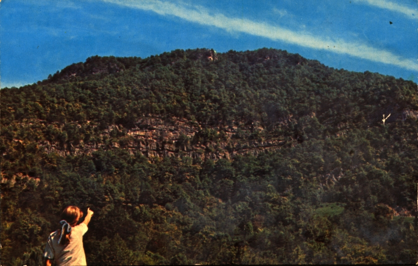 Misha Mokwa Album 1975 Pinnacle Overlook Post Card
