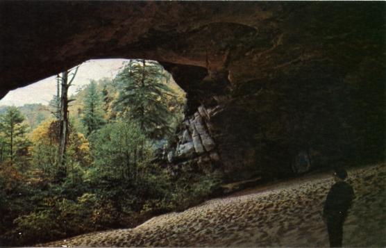 Misha Mokwa Album 1975 Sand Cave Post Card