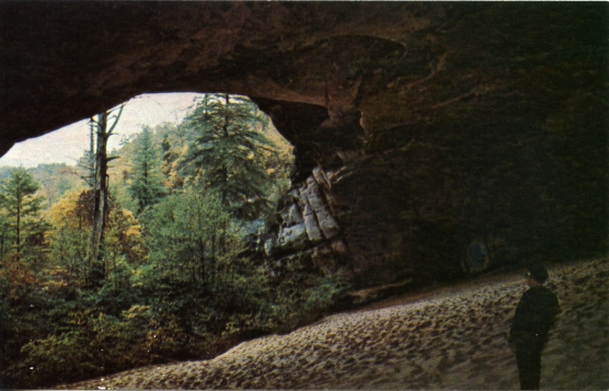 Misha Mokwa Album 1975 Sand Cave Post Card