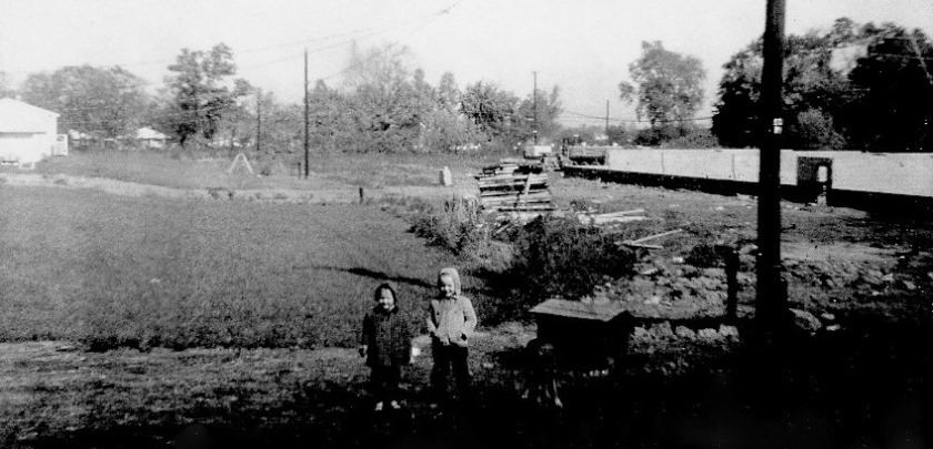 Greg and laurie Back yard Oct 18 1969_1
